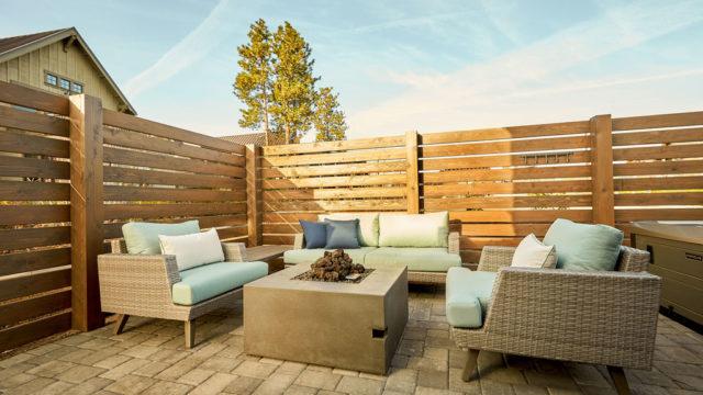 Cairn Cottage 29 - back patio furniture